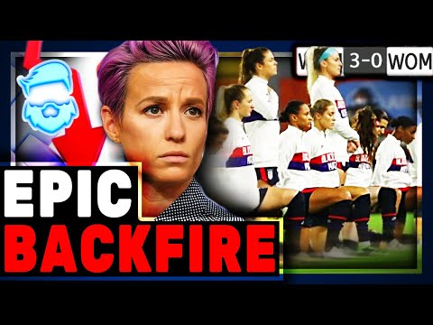 Instant Karma US Soccer Team KNEELS For BLM & LOSES Olympic Match Breaks Streak Of 44 Straight W