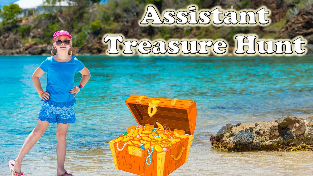 assistant magical key treasure hunt challenge a surprise real life