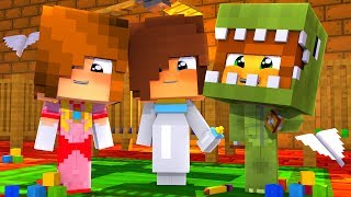 BEBES ESCOLHEM A FANTASIA DE HALLOWEEN NO MINECRAFT! (RAFA, MULTI E JULIA!)