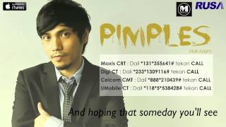 Video Mark Adam - Pimples [Official Lyrics Video] download MP3, 3GP, MP4, WEBM, AVI, FLV Agustus 2018