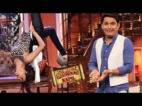 Sushmita Sen's AERIAL ACT on Kapil Sharma's Comedy Nights with Kapil 19th ...