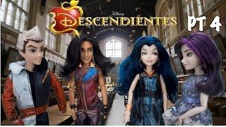 Disney Descendientes Muñecas | Episodio 4 | Mal Evie Ben Jay Carlos