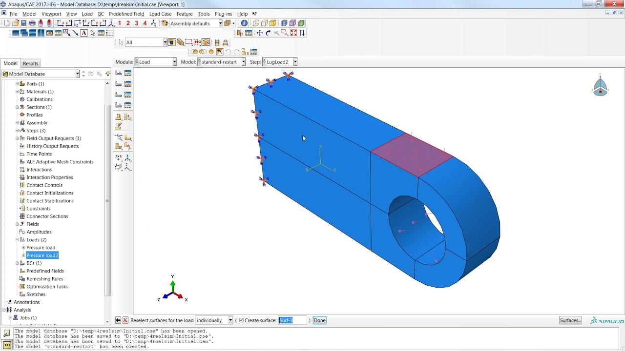 Blog SIMULIA how to restart an Abaqus simulation via Abaqus/CAE