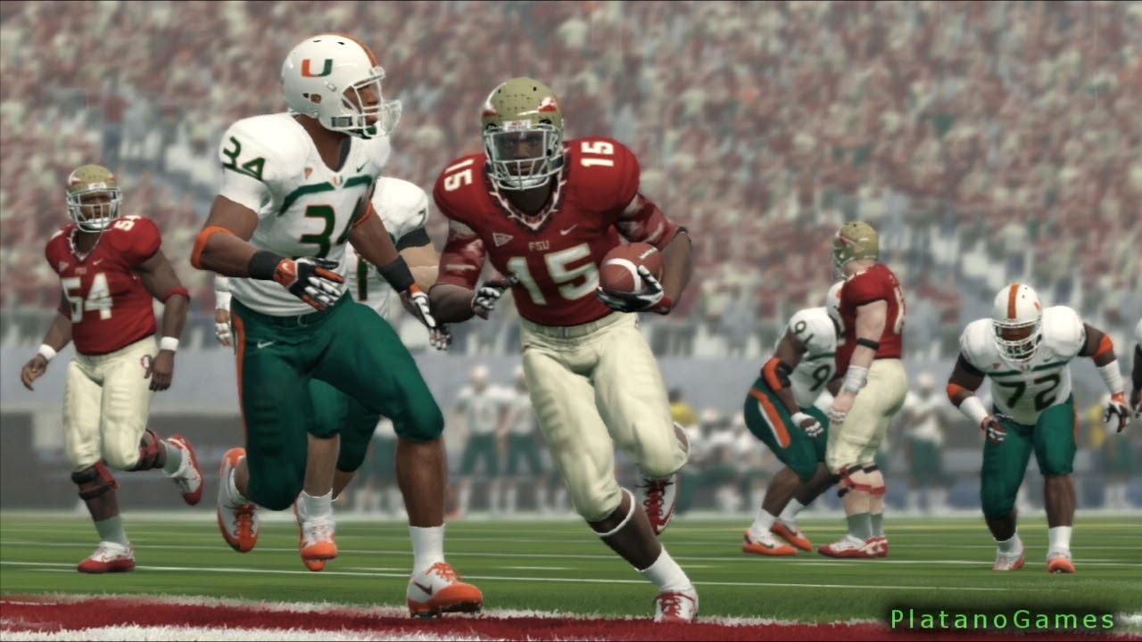 Ncaa college football 14 miami hurricanes vs 14 florida state ncaa college football 14 miami hurricanes vs 14 florida state seminols 2nd qrt hd voltagebd Image collections