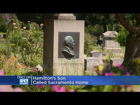 Alexander Hamilton's Son William Buried In Sacramento Cemetery