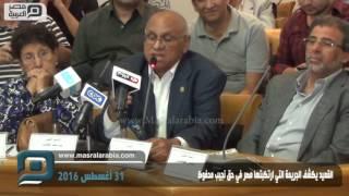 بالفيديو   القعيد يكشف جريمة مصر في حق نجيب محفوظ
