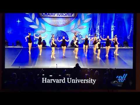 Harvard Crimson Dance Team Nationals 2017