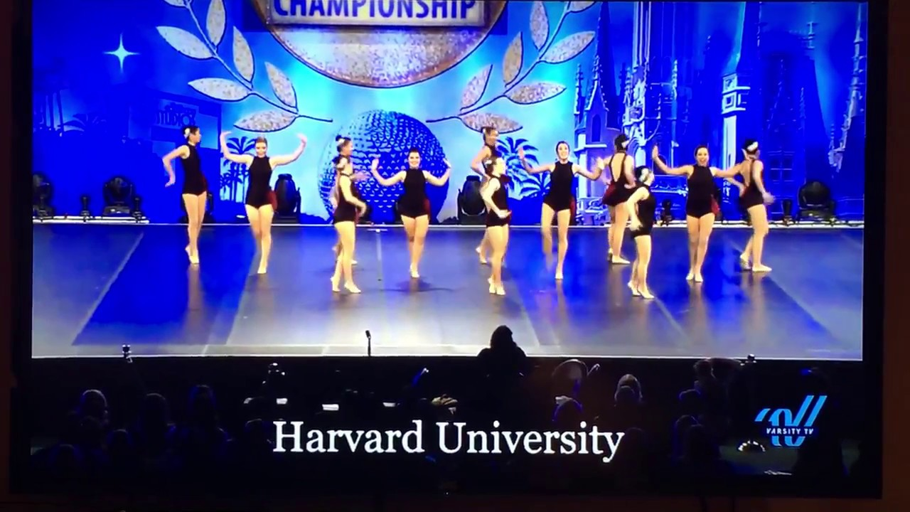 Harvard Crimson Dance Team Nationals 2017