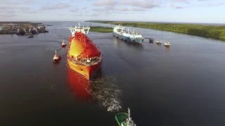 Höegh LNG STS Transfer Klaipeda