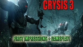 Crysis 3 Beta - First impressions + Gameplay!