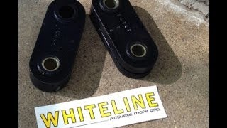 How To: Whiteline Gearbox Positive Shift Kit (W0584M) and Group N Trans Mount, 2002 WRX