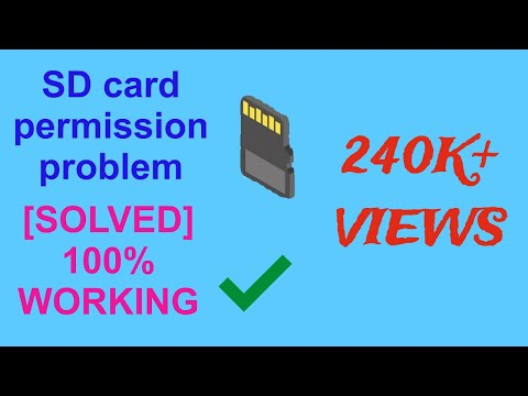 [SOLVED] SD Card File Delete/move/copy/paste Solved. (Without Root) For Android Phone.New Trick 2018