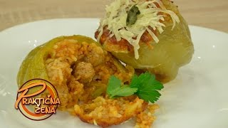 Praktična žena - Paprike punjene kobasicama na italijanski način - Bračni par Tomašević