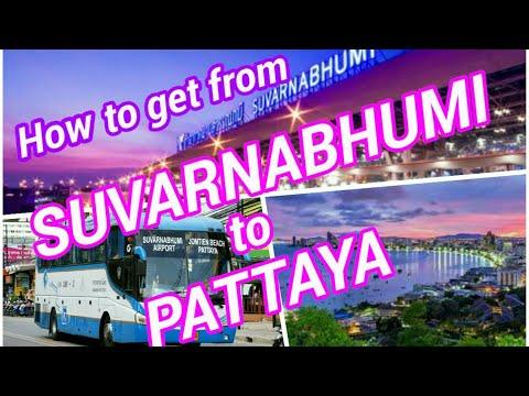 How to get from Bangkok Suvarnabhumi Airport to Pattaya