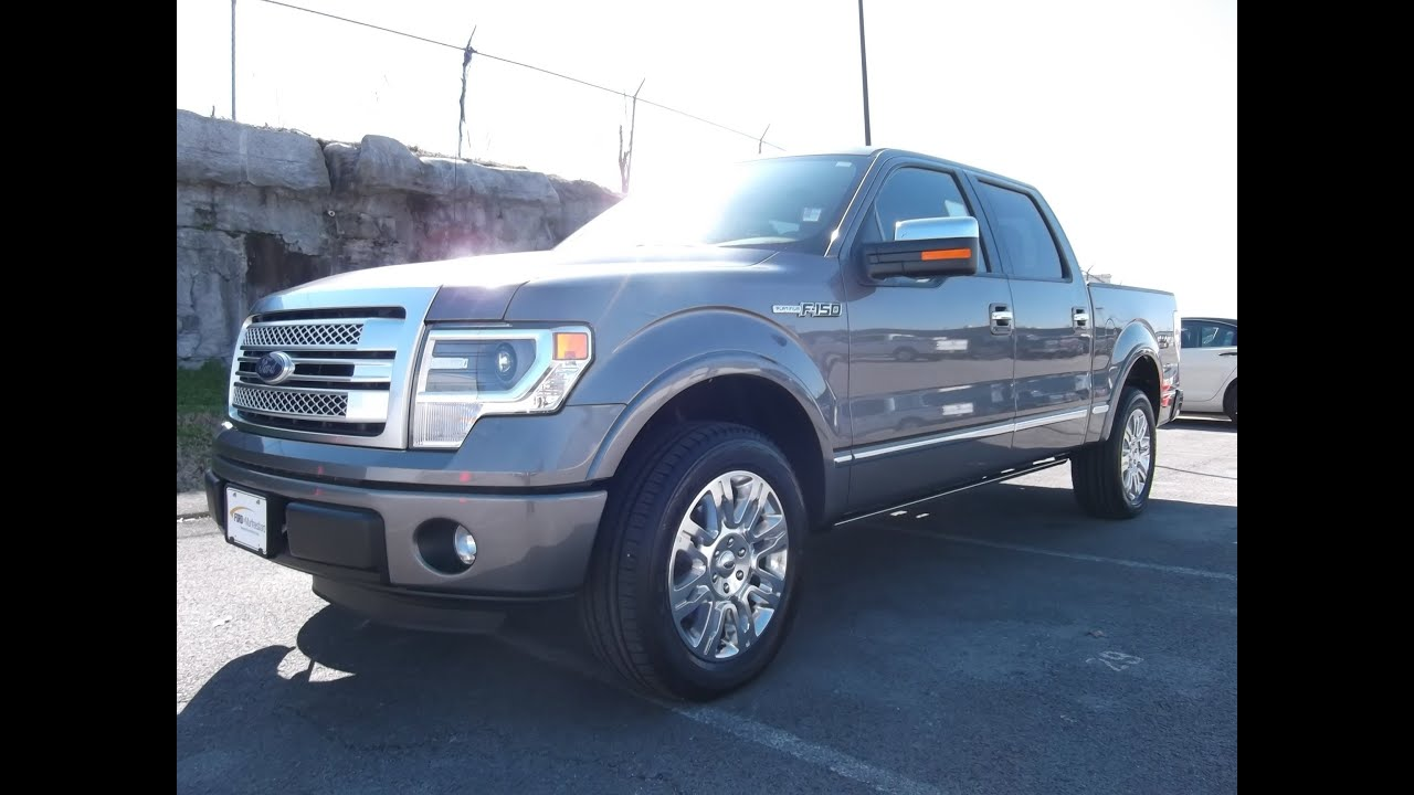 Ford F 150 Platinum For Sale >> 2013 FORD F-150 PLATINUM SUPERCREW 5.0 V-8 4X2 STERLING ...