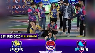 Game Show Aisay Chalay Ga League Season 2 | 13th July 2020 | Champions Vs TickTockers