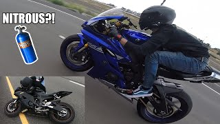 NITROUS GSXR! | FASTEST R6?? | BIKE DOWN