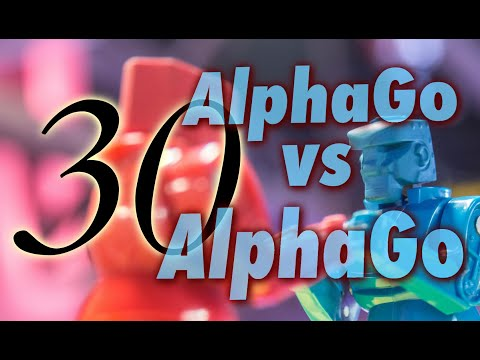 AlphaGo Vs. AlphaGo With Michael Redmond 9p: Game 30
