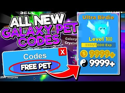 ALL FREE PET CODES In NINJA LEGENDS! (Roblox BEST CODES)