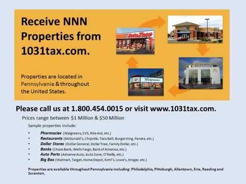 View NNN property in Pennsylvania  NNN triple net lease property for investors & 1031 exchange