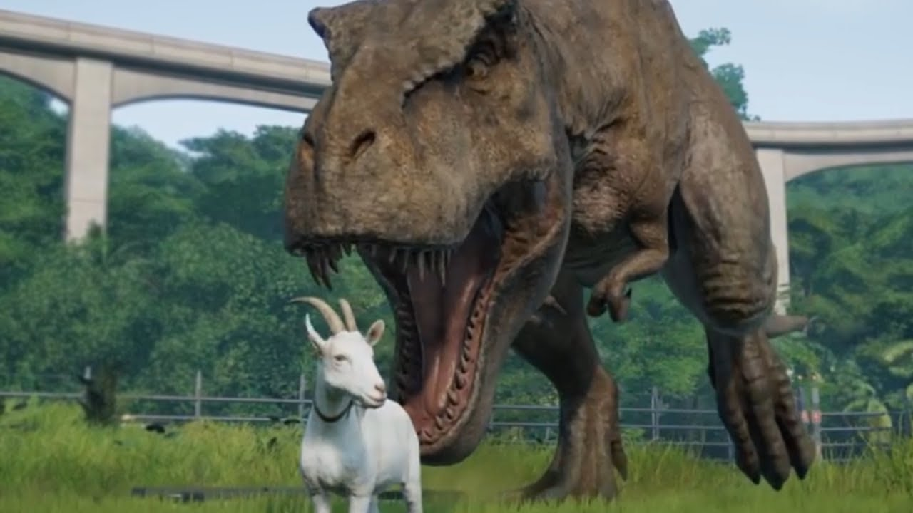 Image result for goat jurassic park""