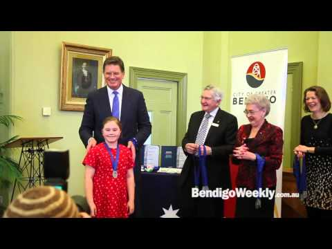 Bendigo Weekly - Youth Choir Civic Reception