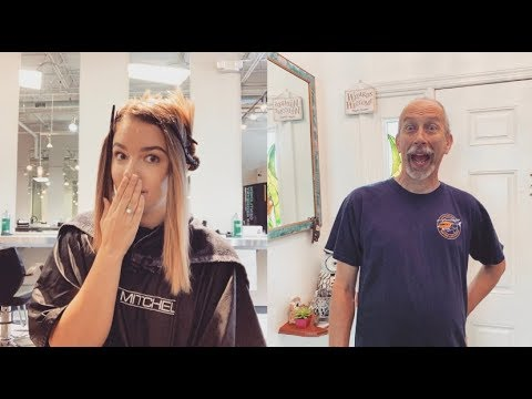 WHAT DID I DO TO MY HAIR!? MY HUSBANDS REACTION! thumbnail