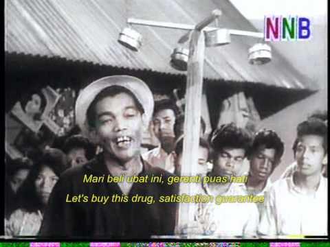 P. Ramlee, AR Tompel & Ibrahim Din - Ubat (Do Re Mi OST - 1966)
