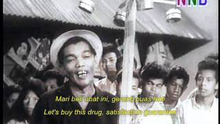 Video P. Ramlee, AR Tompel & Ibrahim Din - Ubat (Do Re Mi OST - 1966) download MP3, 3GP, MP4, WEBM, AVI, FLV Mei 2018