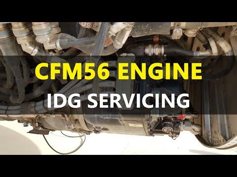 Airbus A340 CFM56 Engine - IDG Servicing