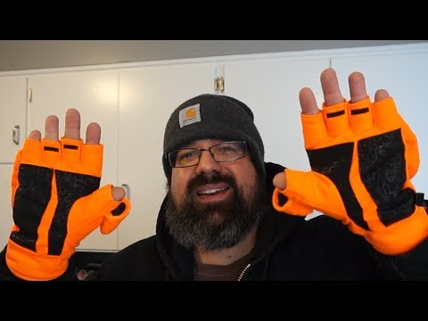 Mossy Oak Pop Top Winter Hunting Gloves...initial Impression?