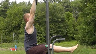 10 Baby Steps to Master the L-Sit Pull-up