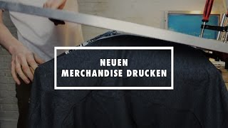 DIY: T-shirt | Pullover selber drucken // NEW MERCH