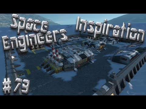 Space Engineers Inspiration - Episode 79: Scout, Base Crawler, & Research Base Camelot