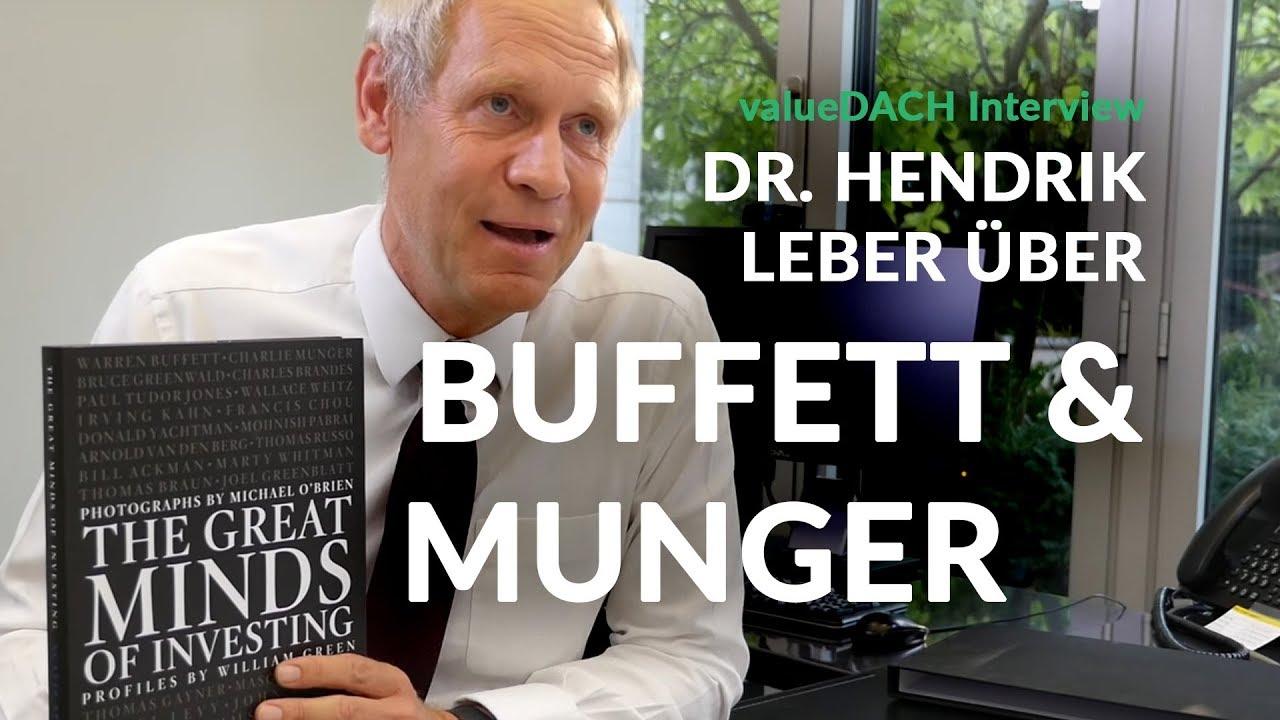 Charlie Munger Warren Buffett Berkshire Hathaway Und Der Deutsche Dr Hendrik Leber Acatis
