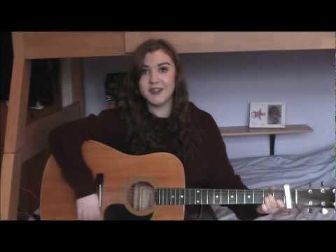 Adele Hometown Glory Guitar Cover- Amy Clarke