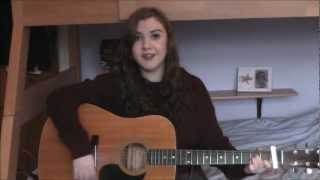 Adele Hometown Glory Guitar Cover- Amy Clarke