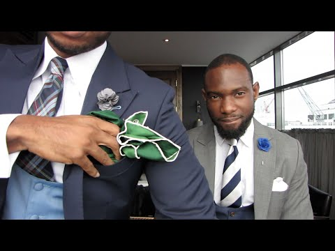 Mens Style How To Fold Pocket Square