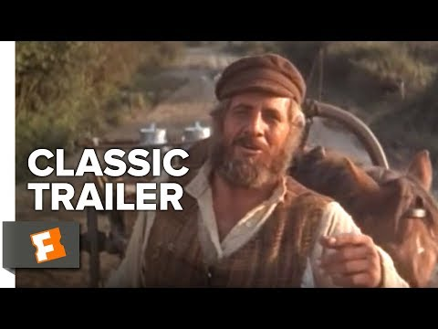 Fiddler On The Roof Official Trailer 5 Topol Movie