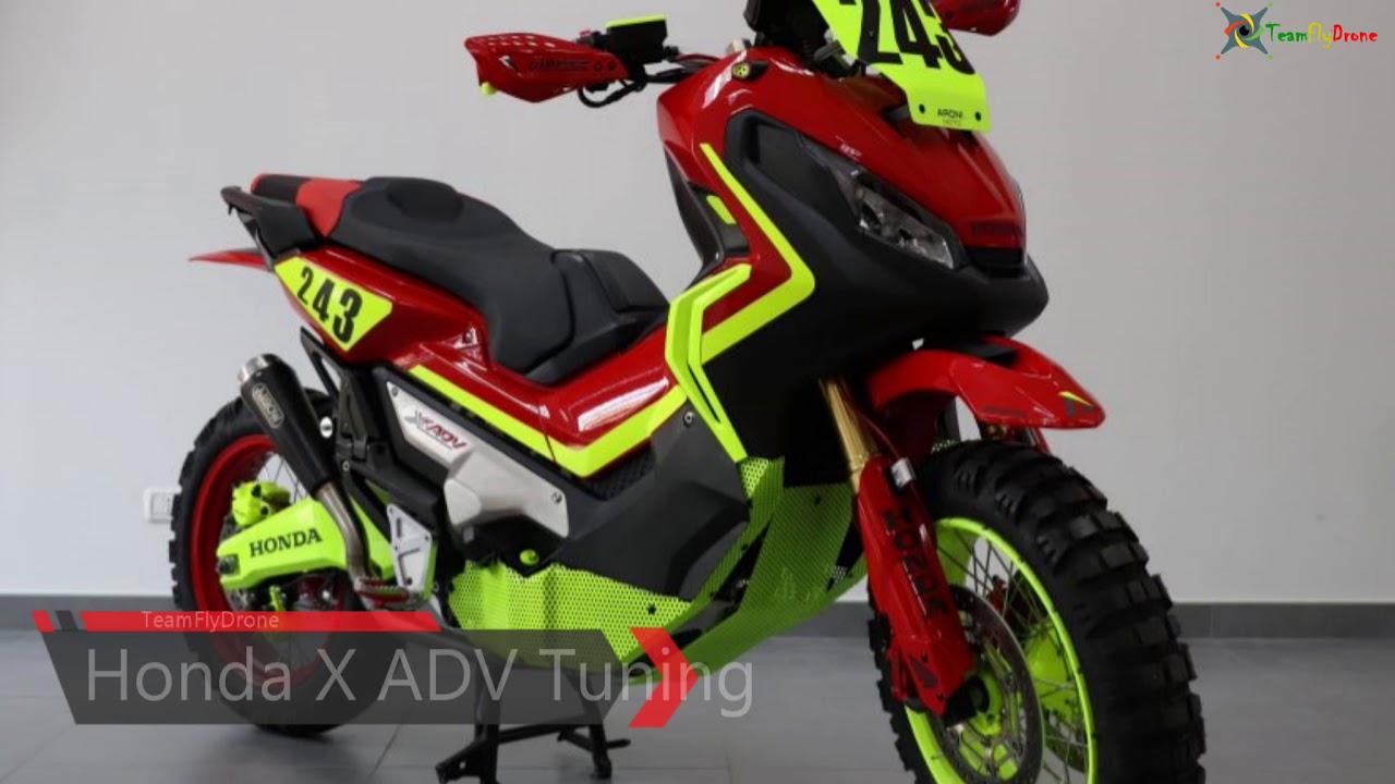 [MOTO] HONDA X ADV 750 - Tuning Elaborazioni - Salone EICMA 2017 - YouTube