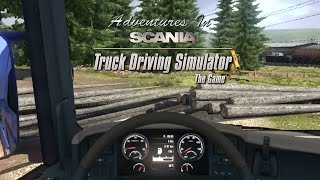 Adventures in Scania Truck Driving Simulator: Logging Off