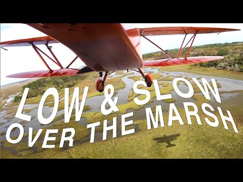 AMAZING views from a RARE Waco Biplane - YouTube