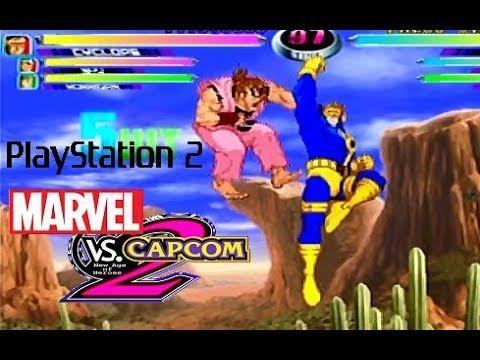Marvel Vs  Capcom 2 playthrough (PS2)