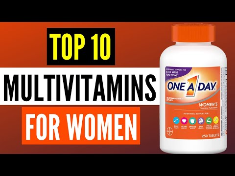 Best Multivitamins For Women 2020: Top 10 Multivitamins Supplements