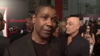 The Equalizer 2   Premiere  Red Carpet  Denzel Washington