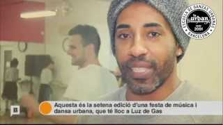 LA URBAN DANCE FACTORY EN CONNEXIÓ BARCELONA ( BTV )