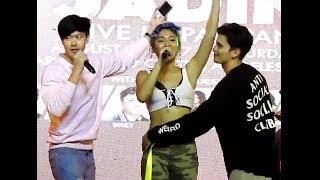 James Reid todo bakod kay Nadine Lustre (JaDine live in Pampanga)