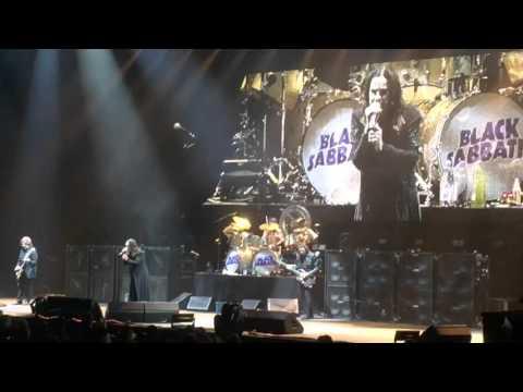 BLACK SABBATH - THE END TOUR - THE UNITED CENTER - CHICAGO - 1/22/16