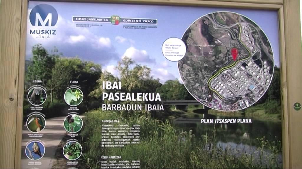 Muskiz prolongará 4 kilómetros más el paseo fluvial del río Barbadun
