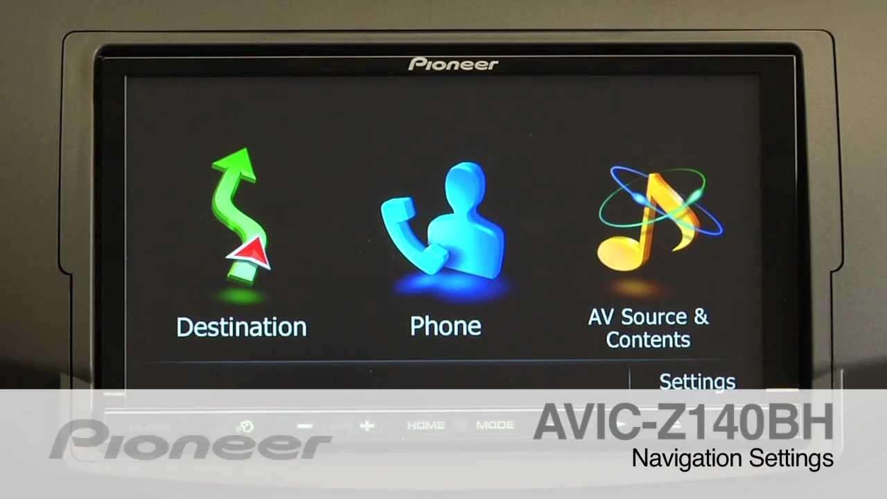Pioneer AVIC-Z140BH GPS Navigation Drivers for Mac
